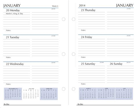 Calendar Refills Calendar Refills 2018 Calendar Refills For Planners And