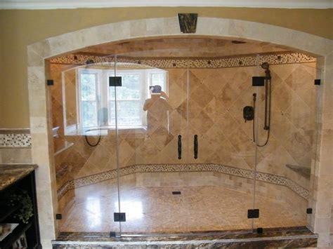 custom bathroom showers 16 best images about walkin showers on pinterest walk in