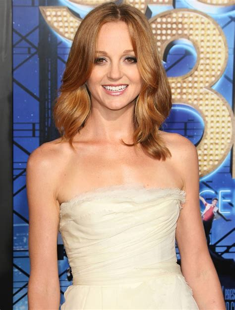 jayma mays jayma mays picture 37 the world premiere of glee the 3d