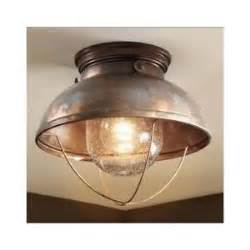 Rustic Ceiling Light Fixtures Ceiling Light Fixture Bathroom Kitchen Rustic Lighting Cabin Decor Lodge Copper Ebay