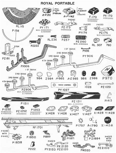 typewriter parts diagram sabb 1961 wiring diagrams wiring diagram schemes