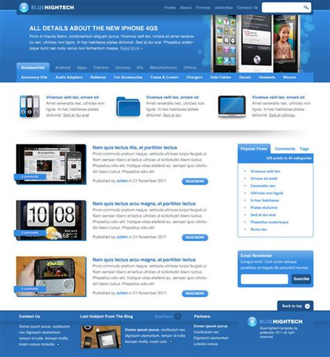 web layout best best of 2011 45 photoshop web design layout tutorials