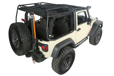 rugged ridge jk rugged ridge releases new roof rack for two door jk expedition portal