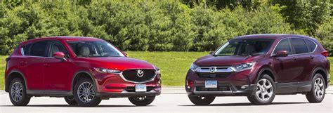 Mazda Cx 5 Vs Honda Cr V Review by Suv Honda Cr V Vs Mazda Cx 5 Consumer Reports