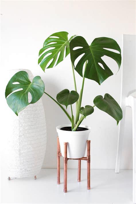 raised copper pot plant stand diy tutorial pure sweet joy