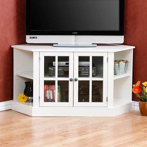 White Corner Tv Cabinet by Corner Tv Stand Home Idea S