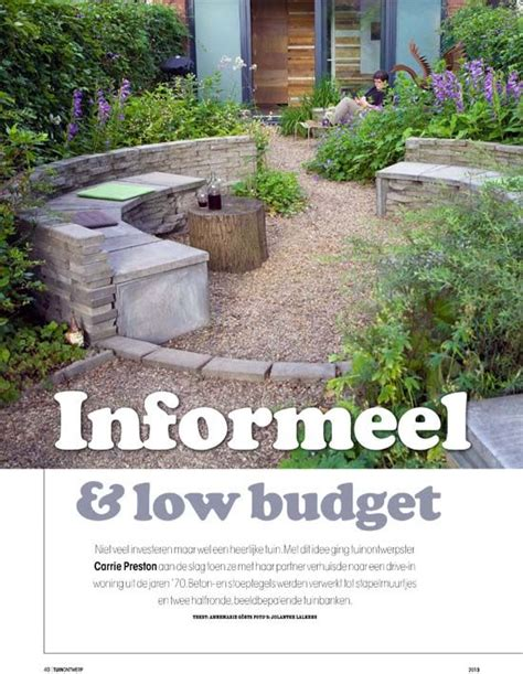 Low Budget Tuin Ideeen by Informeel En Low Budget Idee 235 N Tuin Tuinen
