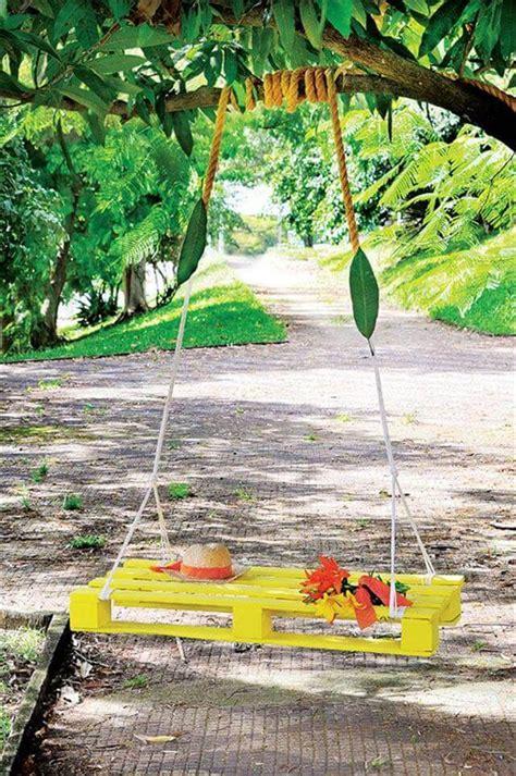 pallet bench swing 40 diy pallet swing ideas 99 pallets