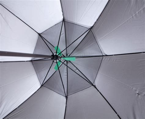 umbrella with fan fanbrella uv reflecting umbrella with motorized fan