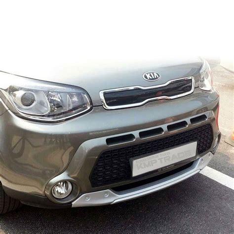 kia soul front bumper front bumper rear bumper guard skid plate diffuser set