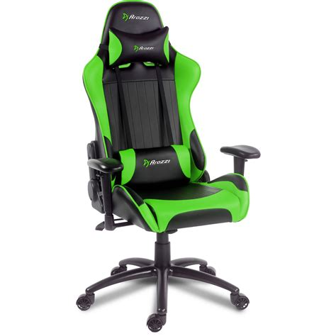 Green Gaming Chair by Arozzi Verona Gaming Chair Green Verona Gn B H Photo