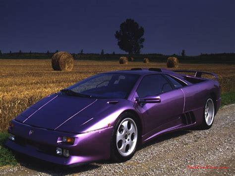 Purple Lamborghini Diablo by Lamborghini Diablo Painted In Purple Cars