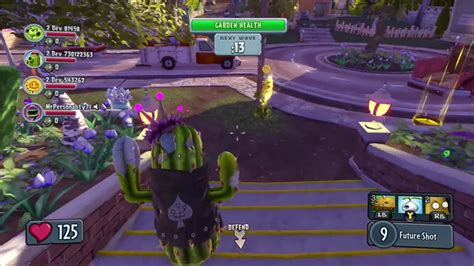 Garden Warfare Gameplay by Plants Vs Zombies Garden Warfare
