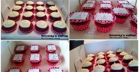 theme line red velvet browny s cakes red velvet quot paris theme quot cupcakes