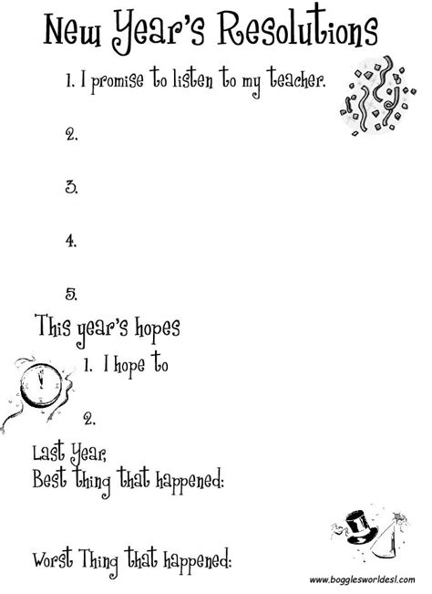 new year worksheets free new year s worksheets and activities
