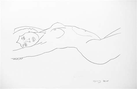 The Draftsman Drawing A Reclining by Frank Kallop Gallery Survivor Series