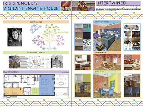 scad portfolios interior design studio 1 residential design on scad