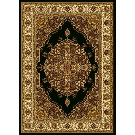 Home Dynamix Royalty Rug by Home Dynamix Royalty Black Ivory 7 Ft 8 In X 10 Ft 4 In