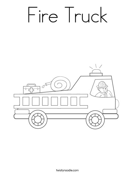 fire truck coloring pages to download and print for free fire truck coloring page twisty noodle