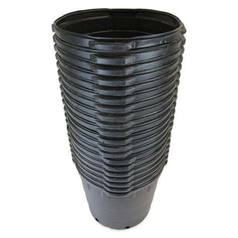 viagrow 10 gal round plastic nursery pots 20 pack