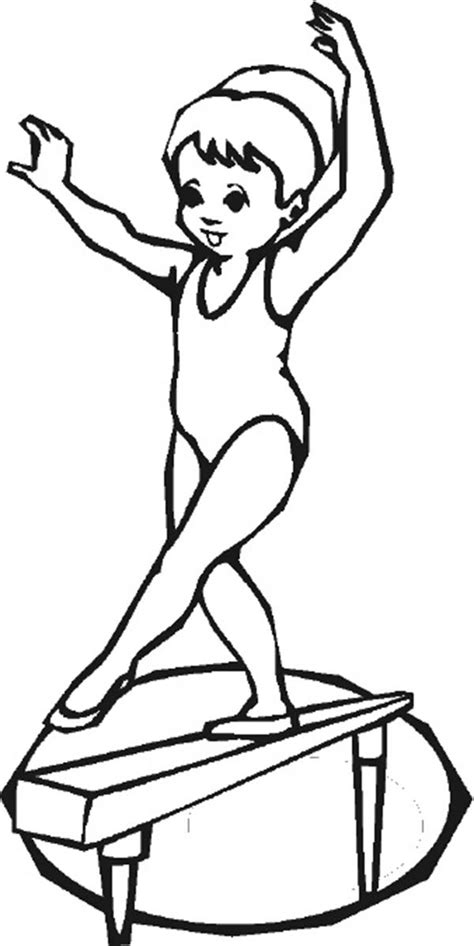 gymnastics christmas coloring pages gymnastics drawing at getdrawings com free for personal