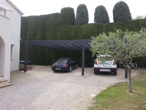 Abris De Voiture Design abris voiture contemporain en bois pour 3 voitures avec
