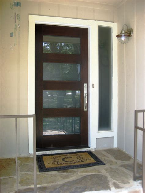 contemporary exterior doors modern wood door gallery the front door company