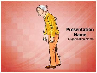 Free Old Age Parkinson Disease Medical Powerpoint Template For Medical Powerpoint Presentations Parkinson S Disease Powerpoint Template