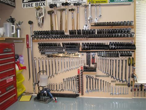how to organize your garage workshop post pics of how you organize your sockets the garage