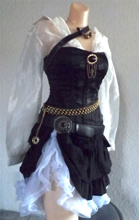Handmade Pirate Costume - small pirate costume small by passionflowervintage