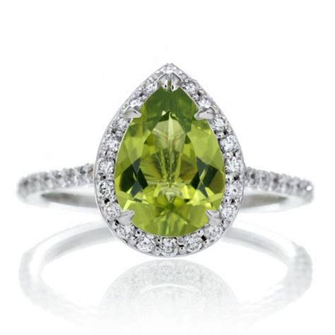 Peridot Engagement Rings by 25 Best Ideas About Peridot Engagement Rings On