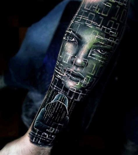 cyber tattoo designs 60 great tattoos for masculine design ideas