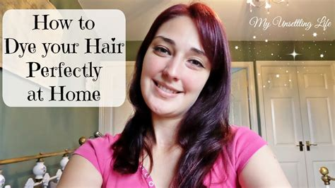 how to dye your hair perfectly at home