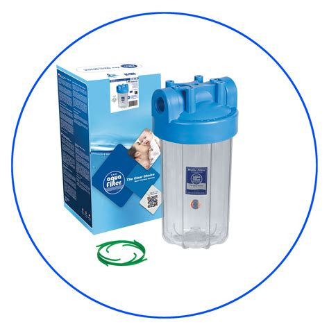 Filter Air Water Filter Housing 10 Puretrex 1 10 quot inch big blue water filter housing fhbc10x m aquafilter