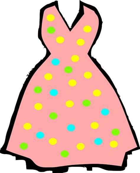 kostenlose vektorgrafik kleid sommerkleid kleidung