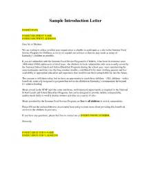 Introduction Letter For New Business Owner Portfolio Introduction Exles