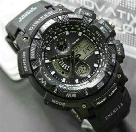 Jam Tangan Cowok Keren Original Digitec jam tangan anak digitec jam simbok