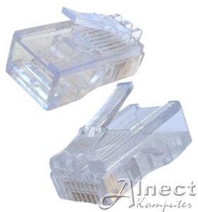 Kabel Usb Konektor Untuk Pc Modem Flashdisk jual rj 45 connector generik 100 pcs konektor jaringan