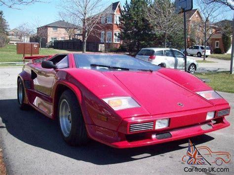 1985 Lamborghini Countach For Sale 1985 Lamborghini Countach 5000 S Quot Replica Quot