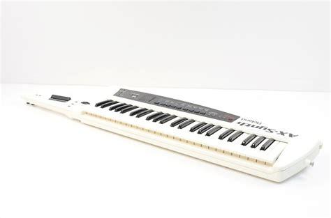 Keyboard Roland Ax Synth roland ax synth shoulder keyboard synthesizer keytar w gig reverb