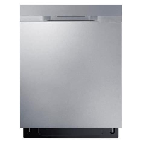 samsung dishwasher samsung stormwash top dishwasher in stainless steel with stainless steel tub and