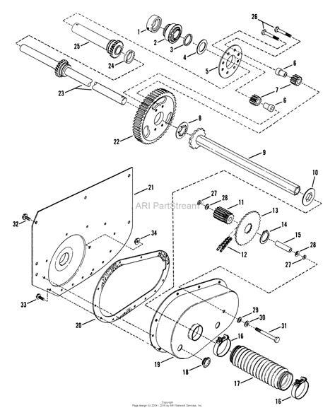 snapper parts diagram snapper 280810t 28 quot 8 hp rear engine rider series 10 parts