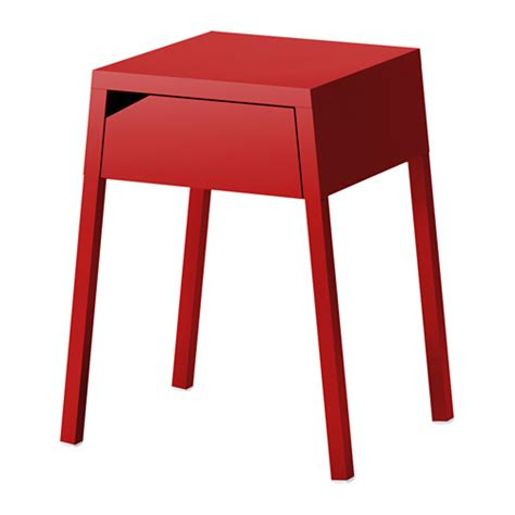 red table for bedroom selje bedside table red ikea