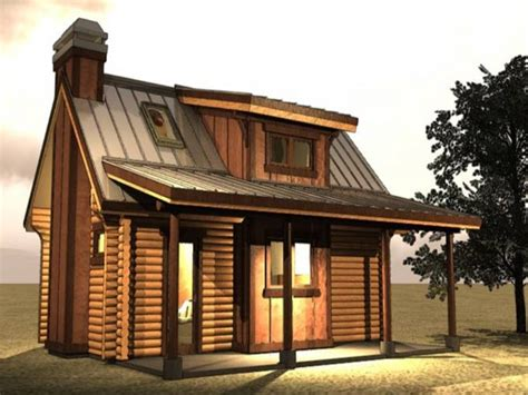 Small Log Cabin Floor Plans With Loft by Log Cabin In The Woods Small Log Cabin With Loft Plans