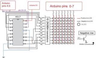 how to build an arduino led matrix in 3 simple steps diy