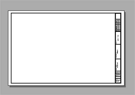 grid layout border resizing a layout title block and border