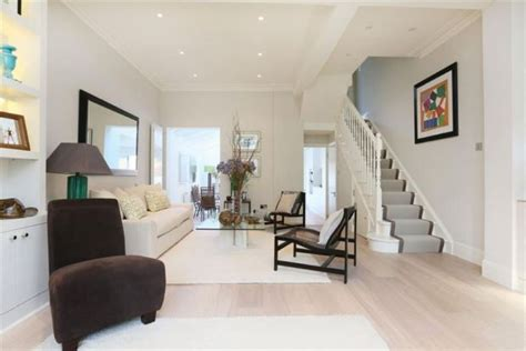 open plan terraced house take out the wall in the entrance hallway and it looks like this practical tbc