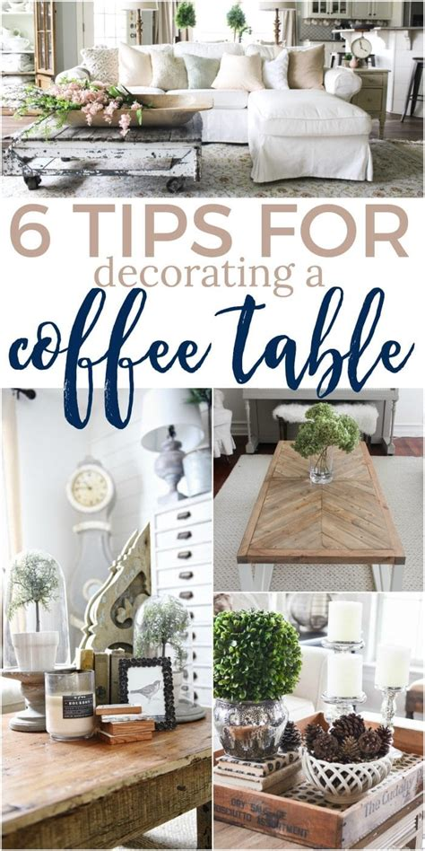 how to decorate a coffee table for 6 tips for how to decorate a coffee table the turquoise home