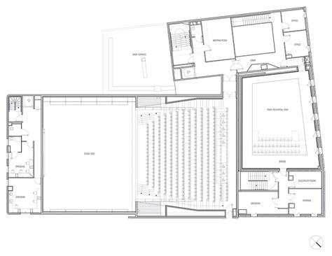 national theatre floor plan gallery of comedie de bethune national drama theater