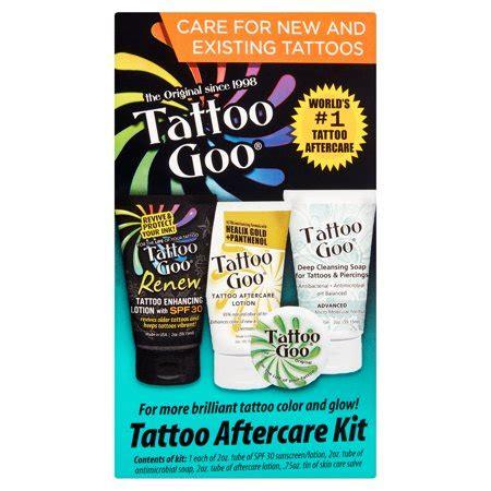 tattoo goo reviews goo original aftercare kit walmart